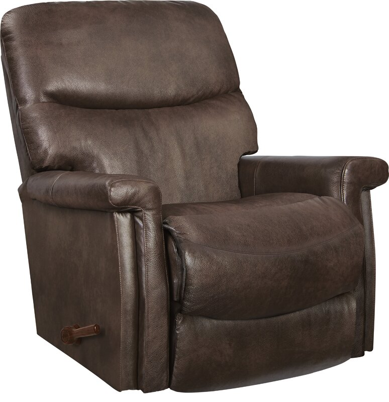 Baylor Leather Recliner  sc 1 st  Wayfair : la z boy leather recliner - islam-shia.org