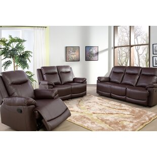 Ahlers 3 Piece Reclining Living Room Set