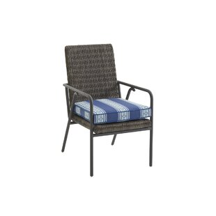 Cypress Point Ocean Terrace Patio Dining Chair with Cushion