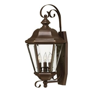 Find Clifton Park 3-Light Outdoor Wall Lantern By Hinkley Lighting