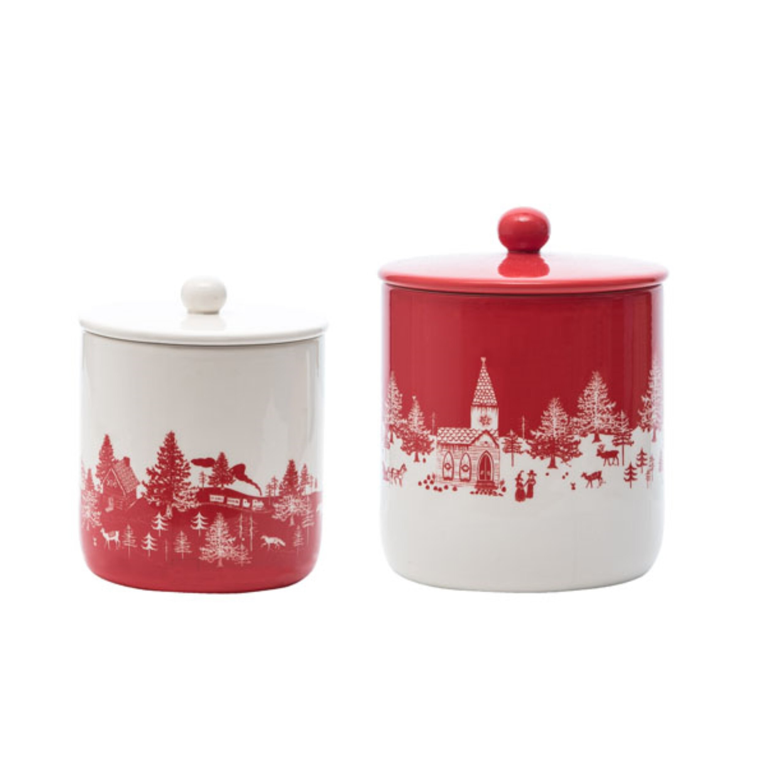 The Holiday Aisle 2 Piece Kitchen Canister Set Wayfair
