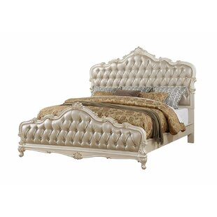 Lerner Upholstered Panel Bed