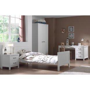 Aldrich 90 X 200cm 4-Piece Bedroom Set By Harriet Bee