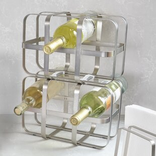 Pulse 6 Bottle Tabletop Wine Rack by Umbra