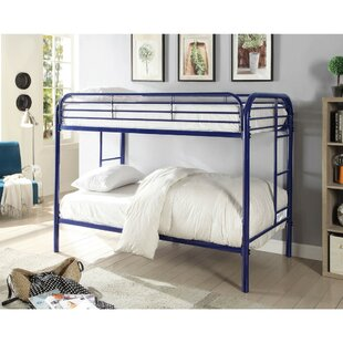 Itzhak Metal Bunk Bed by Harriet Bee