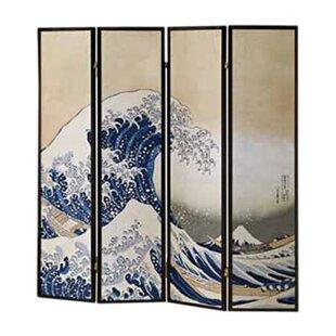 Fukusai Shoji 4 Panel Room Divider ByWildon Home ®