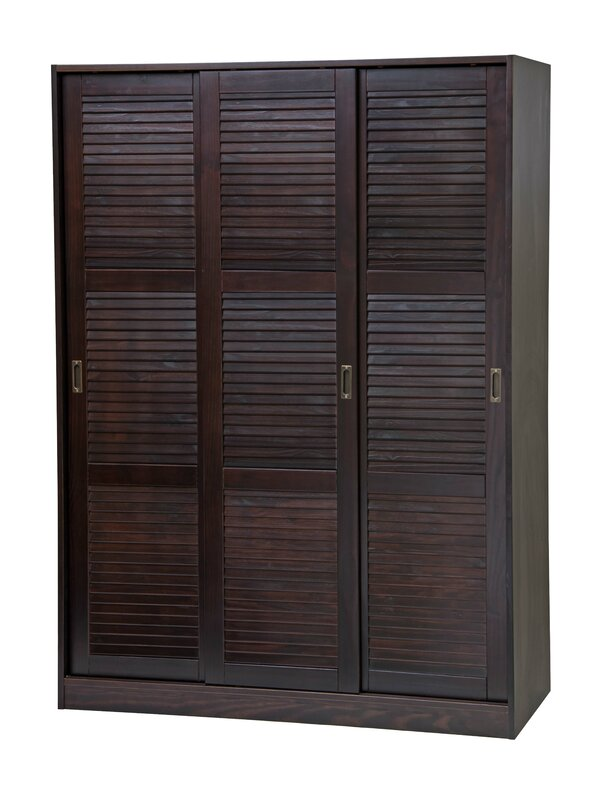3-Sliding Door Armoire
