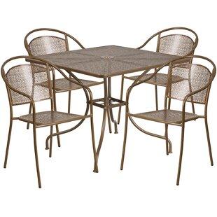 Zipcode Design Delpha 5 Piece Dining Set