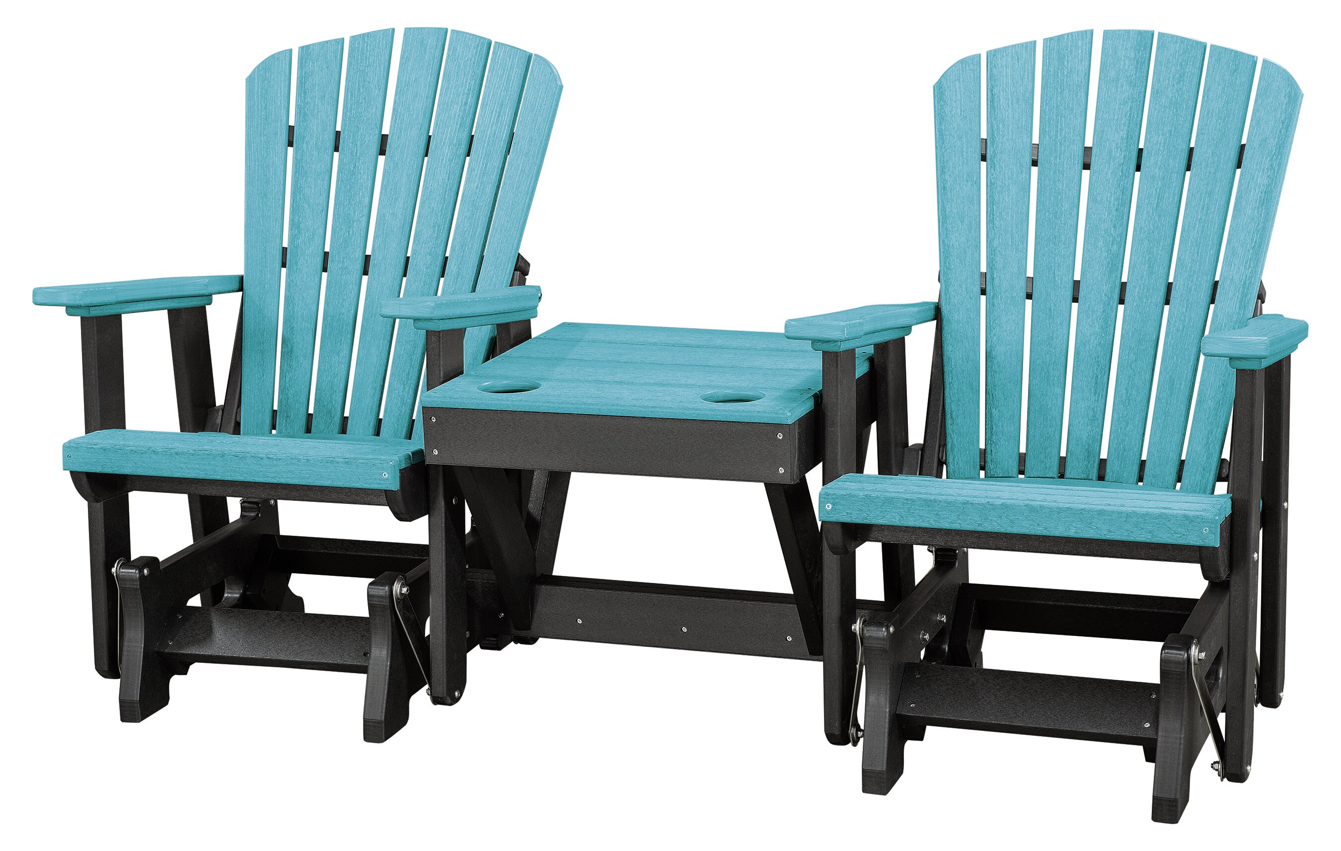 Gina Center Table Double Glider Bench