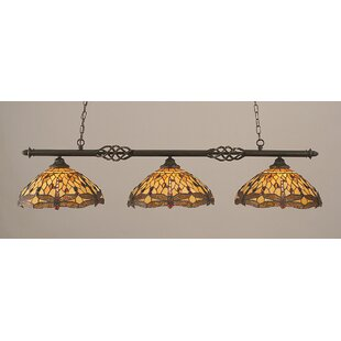 Pierro 3-Light Billiard Light by Astoria Grand