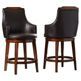 Allenville Bar & Counter Swivel Stool (Set of 2) by Three Posts™