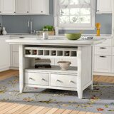 Carrolltown Kitchen Island by August Grove®