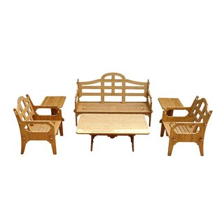 Loon Peak Burliegh 6 Piece Sofa Set