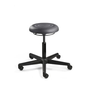 ErgoLux Height Adjustable Backless Stool