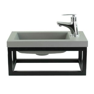 Review Rinker 40mm Wall Hung Single Vanity Unit