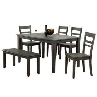 Middlebury 6 Piece Dining Set Red Barrel Studio