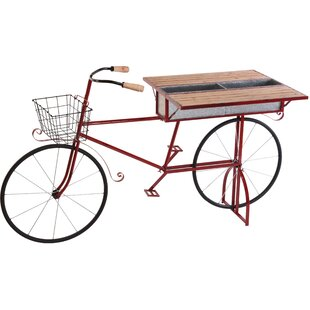 Regina Bicycle Foldable Bar Serving Cart By Sol 72 Outdoor