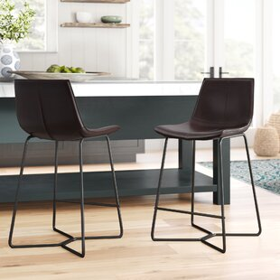 Winschoten 26 Bar Stool (Set of 2) Mistana