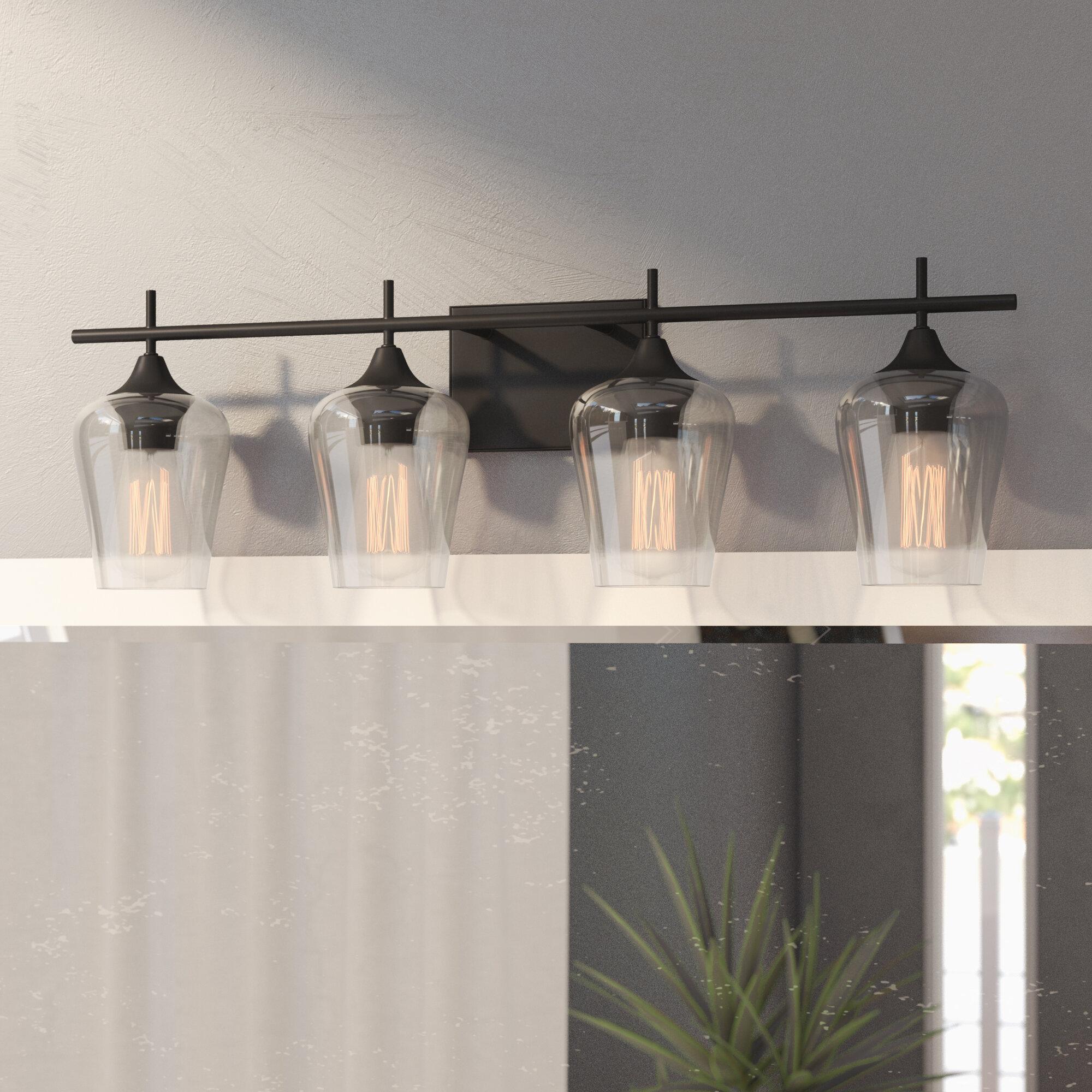 Hickerson 4 light vanity light