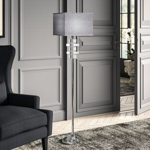 Find the perfect Chamois Square 60.25 Floor Lamp By Greyleigh