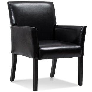 Overlea PU Leather Executive Armchair by Red Barrel Studio