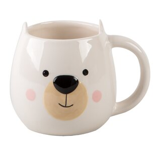 Jacksonville Novelty Bear Figural Coffee Mug
