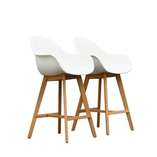 Cruce 27.5 Bar Stool with Arms (Set of 2)