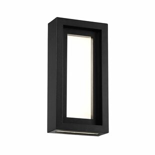 Fort Hamilton LED Outdoor Flush Mount By Orren Ellis Outdoor Lighting