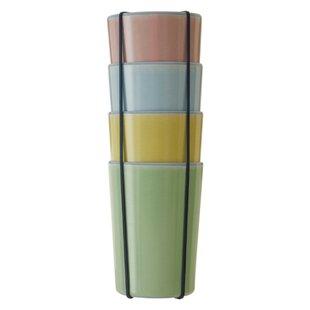 Linehan 340ml Melamine Drinking Glass (Set Of 4) By Ebern Designs