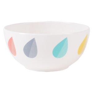 Raindrop Melamine Dessert Bowl