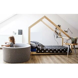Wooden Canopy Bed by Wrigglebox
