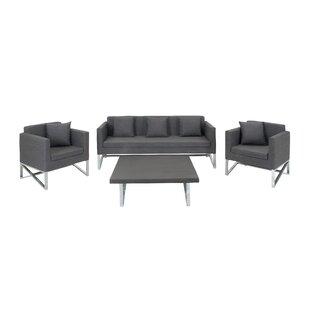 Brayden Studio Hogle 4 Piece Living Room Set