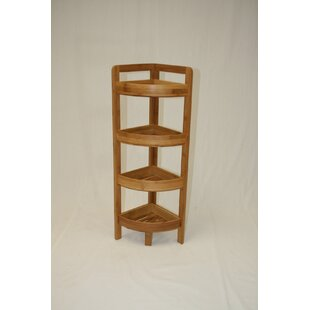 4 Tier Bamboo Corner Unit