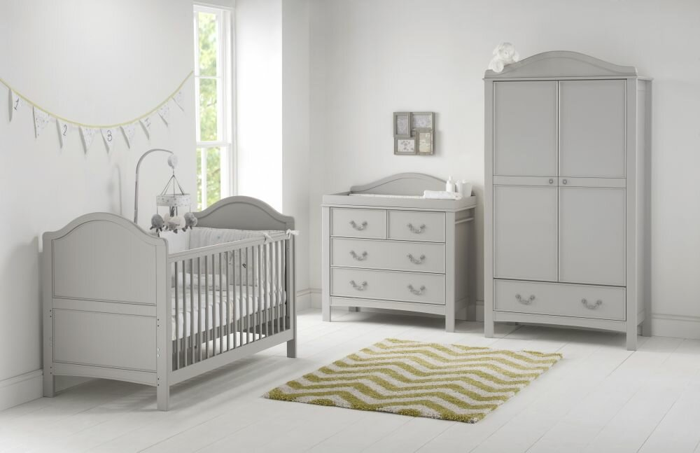 East Coast Toulouse Cot Bed 3 Piece Nursery Furniture Set Reviews