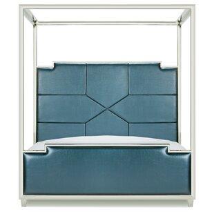 Westford Upholstered Canopy Bed