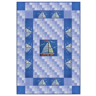 Patch Magic Hand Quilted Cotton Applique Quilt