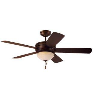 "52"" Ericson 5 Blade LED Ceiling Fan"