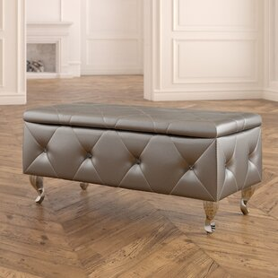 House of Hampton Victoria Upholstered Storage Bench