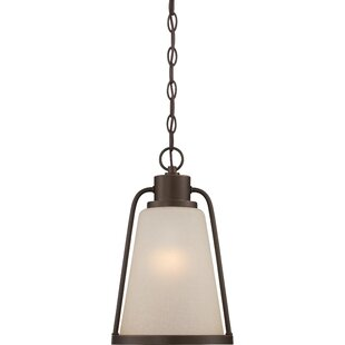 Gracie Oaks Bernville 1-Light Outdoor Pendant
