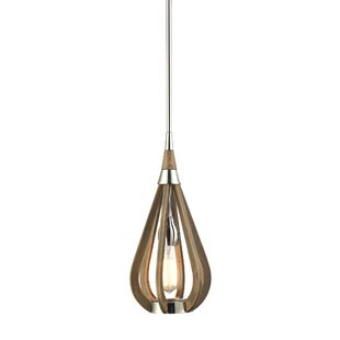 Giannini 1-Light Teardrop Pendant by Ivy Bronx