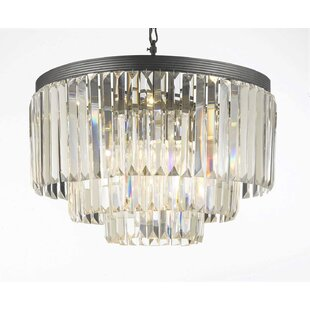 Stewart 9-Light Chandelier by Rosdorf Park