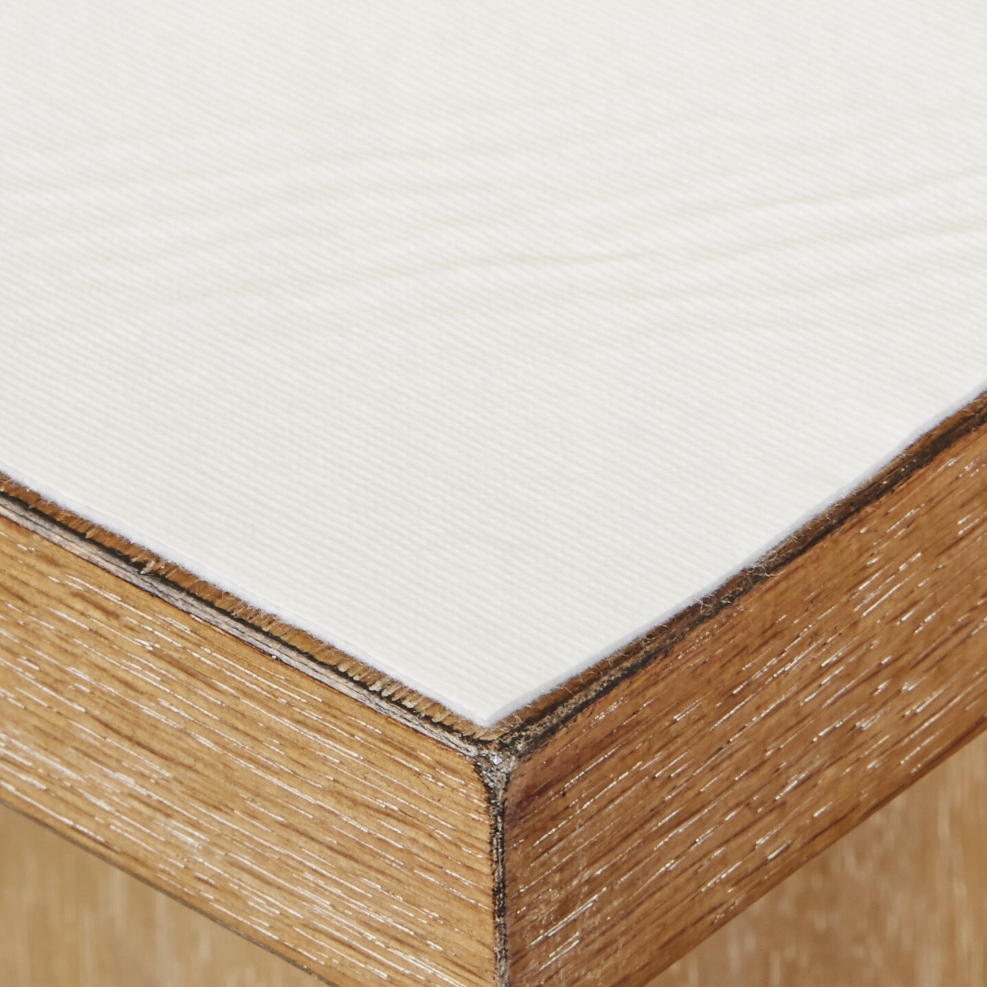 Heat Resistant Beige Duty Table Protector Thick Table Felt.