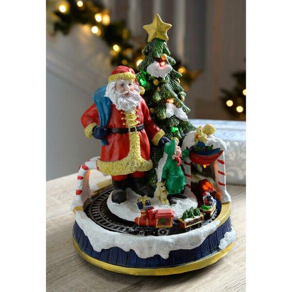 Amazing Walking Christmas Tree Part - 14: The Seasonal Aisle Walking Christmas Tree With Rotating Train Colourful LED  Lights Decoration | Wayfair.co.uk