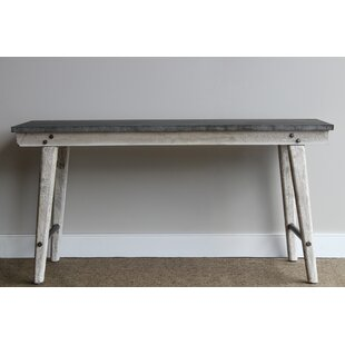 Gracie Oaks Linden Boulevard Topped Console Table