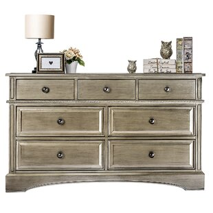 Evolur Double 7 Drawer Double Dresser