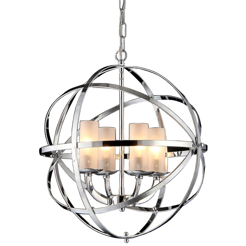 Connie 4 Light Chandelier Reviews