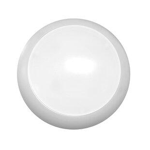 Ebern Designs Di 1-Light LED Flush Mount