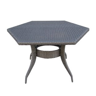 Shanika Wicker/Rattan Dining Table by Brayden Studio