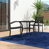 Galliher Modern Contemporary 3 Piece Bistro Set