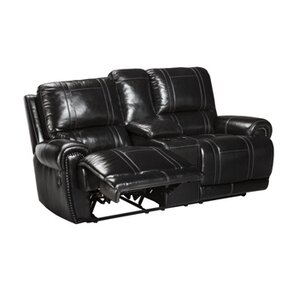 Ashley Signature Design Paron Leather Reclining Sofa